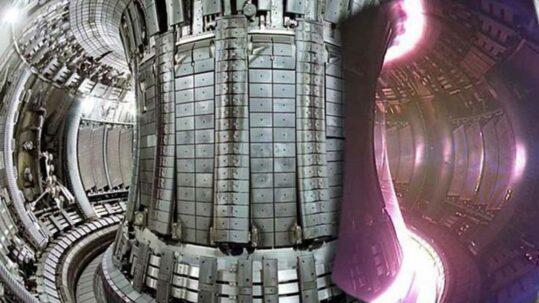 AEC Figura 3. Reactor de energía nuclear de fusión con recubrimiento de carbono main