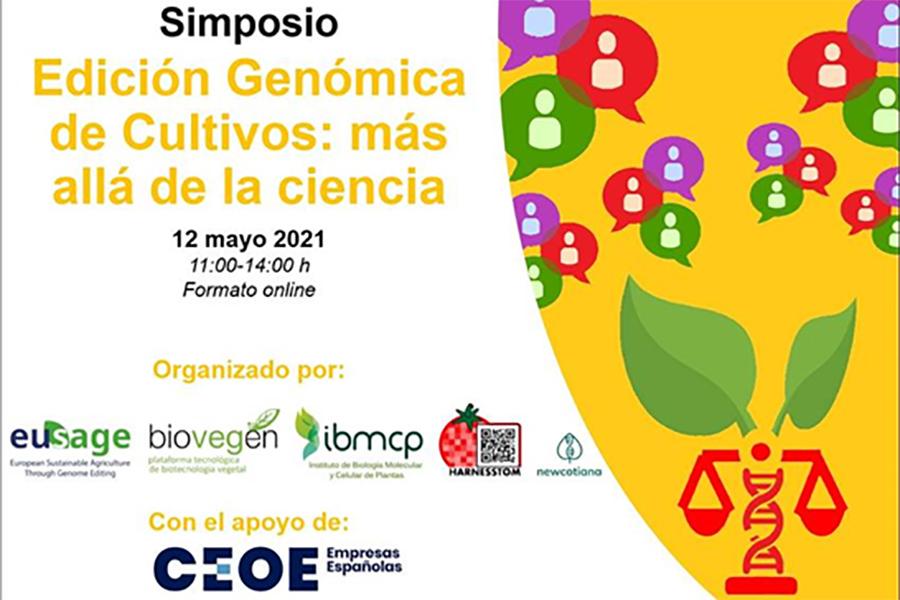 Simposio Edición Genómica Antonio Granell IBMCP
