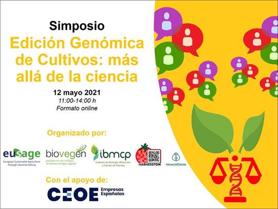 Simposio Edición Genómica Antonio Granell